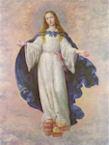 Francisco de Zurbarán - L'Immaculée Conception