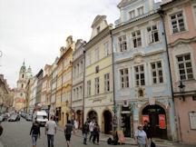 Une rue de Prague