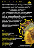 Académie Bach Aix - Coro ripieno