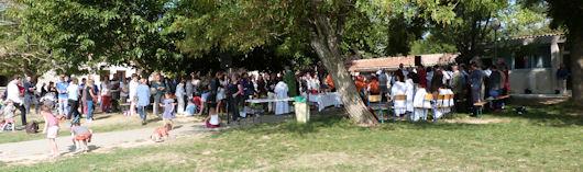 Messe de rentrée à la Chesneraie le 27 septembre 2015