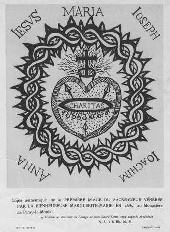 La France et le Sacré Coeur Sacre-coeur-marguerite-marie1