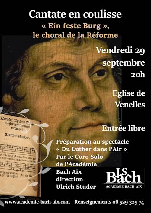 Église de Venelles le 29 septembre à 20h00 Académie Bach Aix