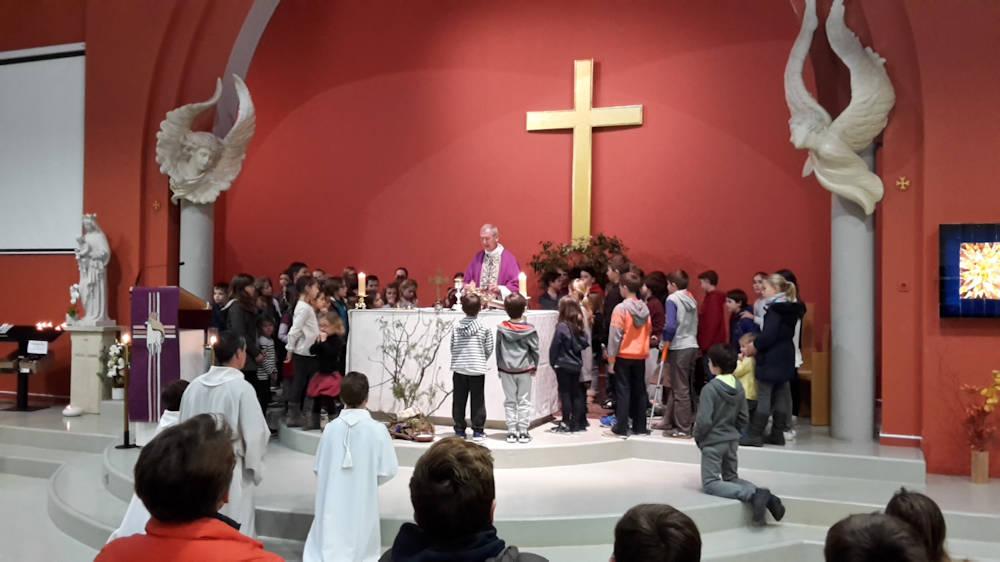 Messe des Cendres 1er mars 2017