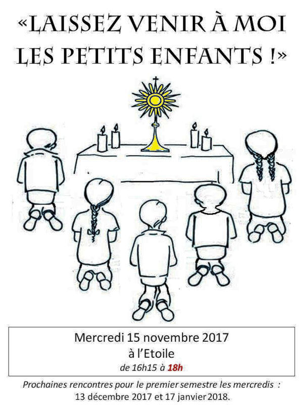Enfants adorateurs - 15 novembre 2017