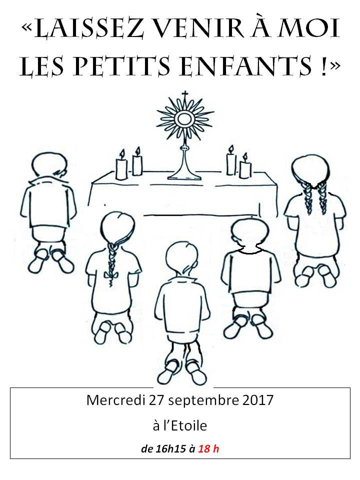 Enfants adorateurs - 4 octobre 2017