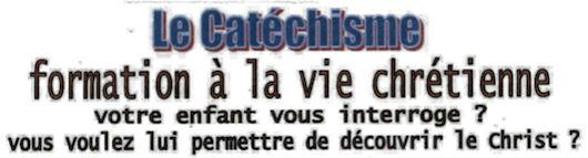 Catéchisme, inscriptions et ré-inscriptions rentrée 2018