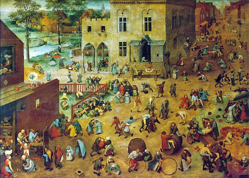 Pieter Brueghel l'Ancien - Jeux d'enfants