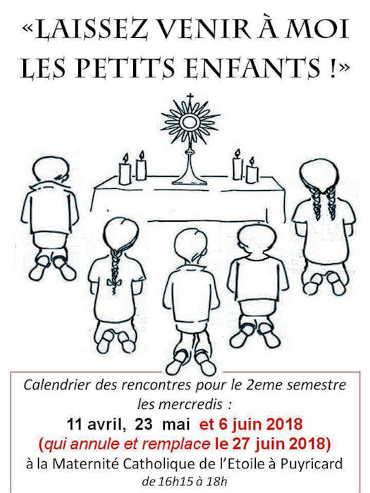 Enfants adorateurs - 11 avril 2018