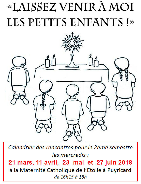 Enfants adorateurs - 21 mars 2018