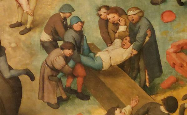 Brughel l'Ancien - Tape-cul en guise de représailles