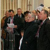 Inauguration des abords de la nouvelle église
