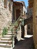 Une rue du village de Berdine