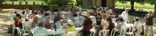 6 juin - pique-nique à St Hippolyte