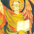 L'ange au livre. Apocalypse X, 1