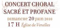 Concert 20 juin 2010
