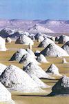 Le désert blanc en Égypte