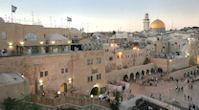 Jérusalem le mur des Lamentations