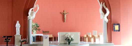 Vierge de la nouvelle église de Venelles