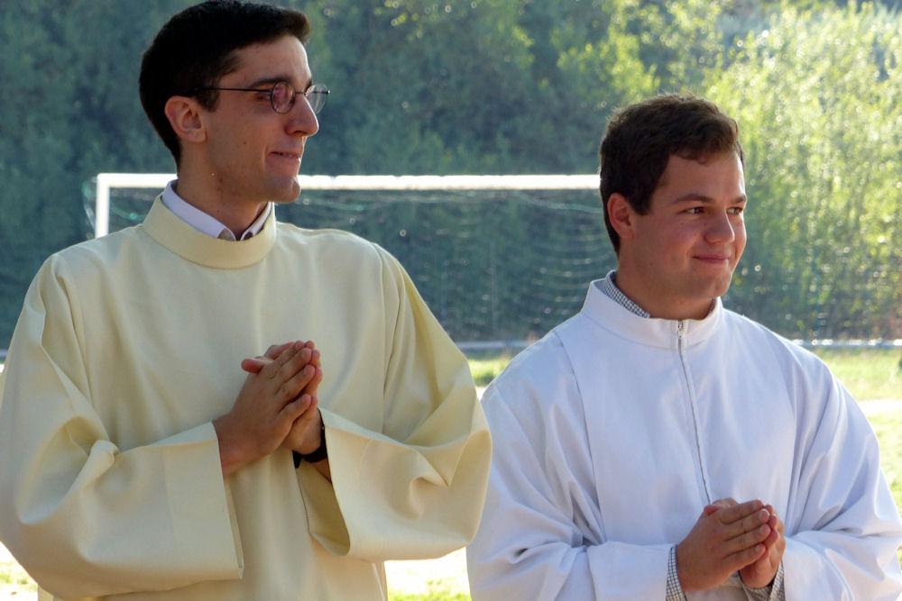 La Chesneraie 25 septembre 2016 - Les nouveaux séminaristes