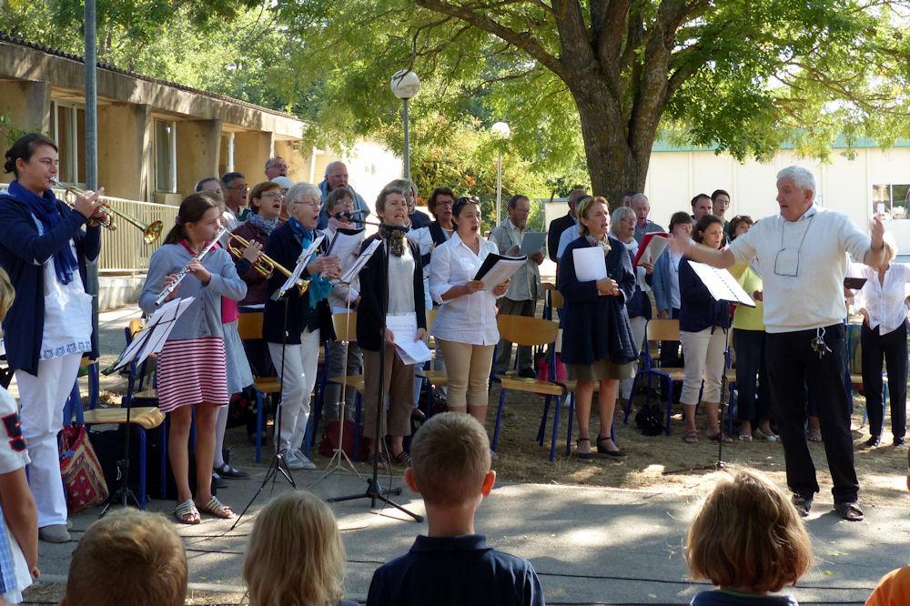 La Chesneraie 25 septembre 2016 - La chorale