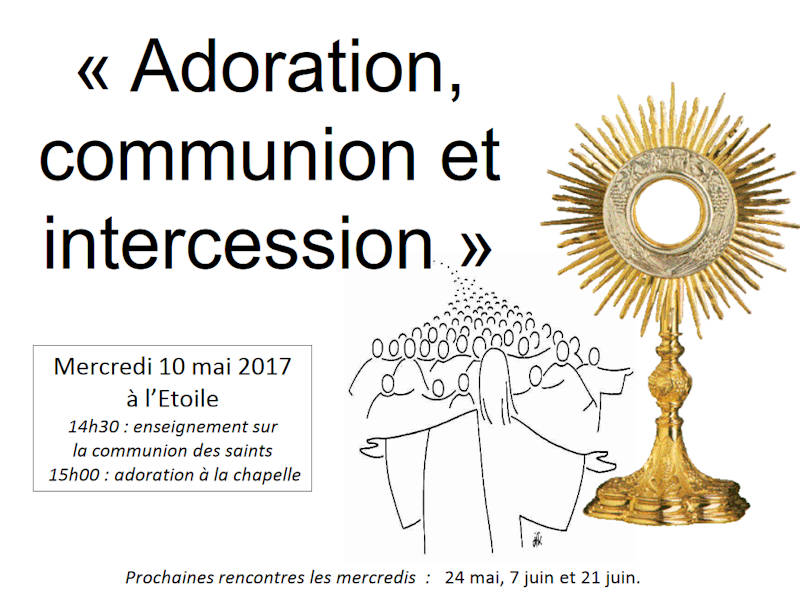Adoration, communion et intercession, 10 mai 2017, mamans adoratrices.