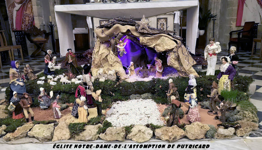 Crèche Noël 2018 -Notre-Dame de l'Assomption Puyricard