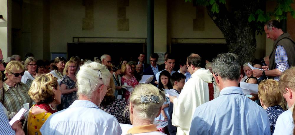 Hervé Chiaverini 25 ans de sacerdoce