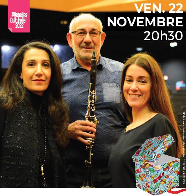 Concert, église de Venelles, 22 novembre 2019