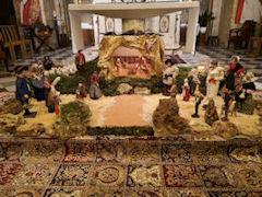 Église de Puyricard, crèche 2019