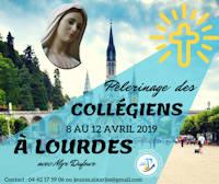 Pélerinage des collégiens à Lourdes