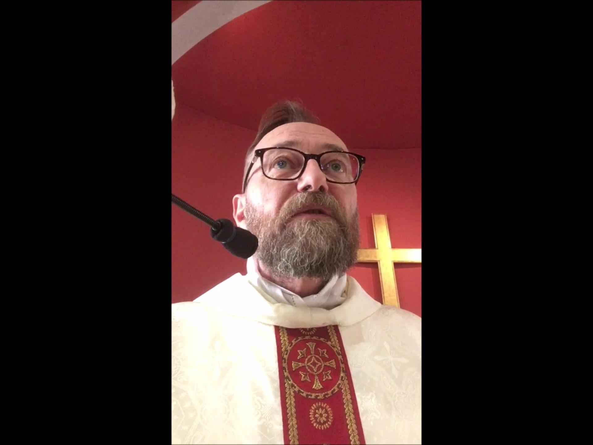 Jeudi-Saint 2020 - Père Bernard MAITTE le 9 avril 2020