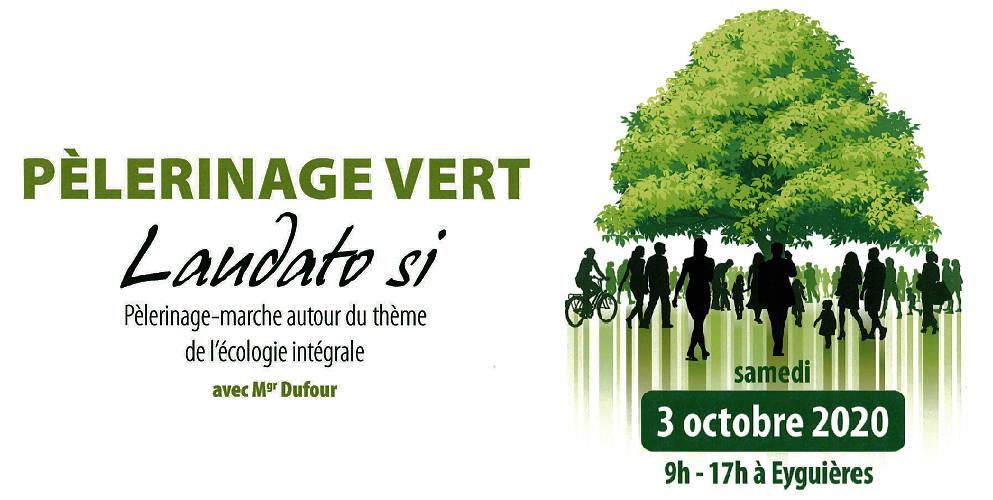 Pèlerinage-marche autour du thème de l'écologie intégrale avec Mgr Dufour
