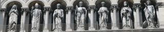 Schéma - Les saints de Provence, cathédrale Major de Marseille