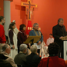 14 décembre 2008, consécration de l'église de Venelles