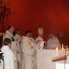 Consécration de la Nouvelle Église le 14 décembre 2008