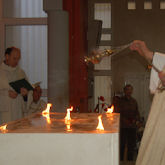 Inauguration de la nouvelle église